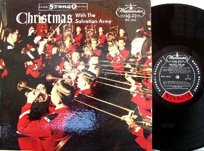 Christmas With The Salvation Army - Vinyl LP Record