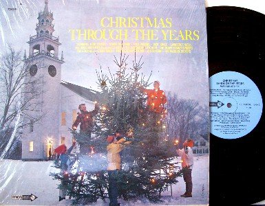 Christmas Through The Years - Vinyl LP Record - Pop