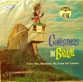 Christmas In Brazil - Coro Das Meninas De Casa De Lazaro - Sealed Vinyl LP Record