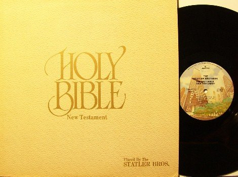 Statler Brothers - Holy Bible New Testament - LP Record - Country Gospel
