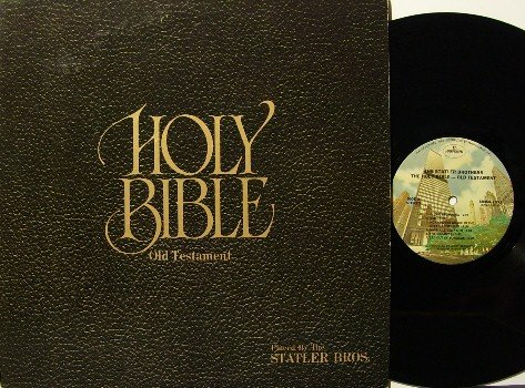 Statler Brothers - Holy Bible Old Testament - LP Record - Country Gospel