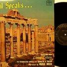 Paul Speaks - LP Record - Kenneth N. Taylor Paraphrased Epistles - Spoken Word Christian Gospel