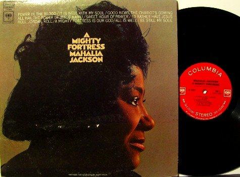 Jackson, Mahalia - A Mighty Fortress - Vinyl LP Record - Spiritual Gospel