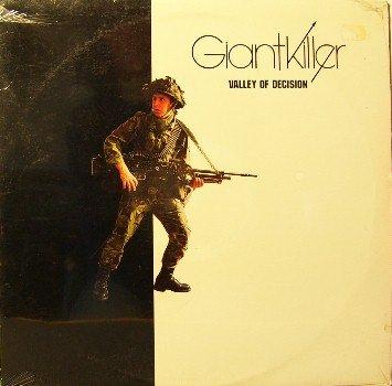 Giantkiller - Valley Of Decision -Sealed Vinyl LP Record - Giant Killer - Xian Christian Rock