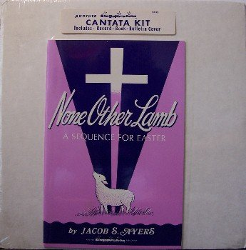 Easter - Cantata Kit - Sealed - Vinyl LP Record, Book, Bulletin Cover - Christian