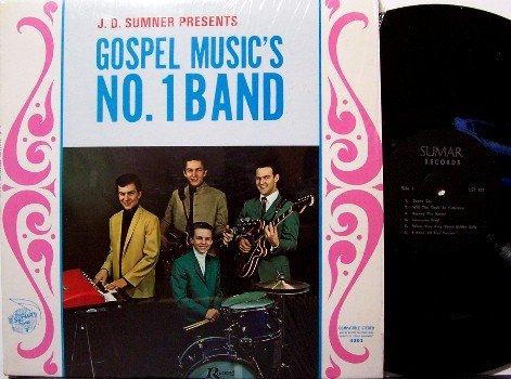 Sumner, J.D. Presents Gospel Music's No. 1 Band - The Stamps - LP Vinyl Record - Christian