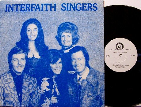 Interfaith Singers - Lost Searching Found - Vinyl LP Record - Private Label - Christian Gospel