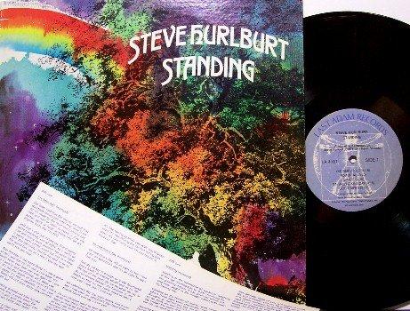 Hurlburt, Steve - Standing - Vinyl LP Record - Last Adam Label - Xian Contemporary Christian Rock