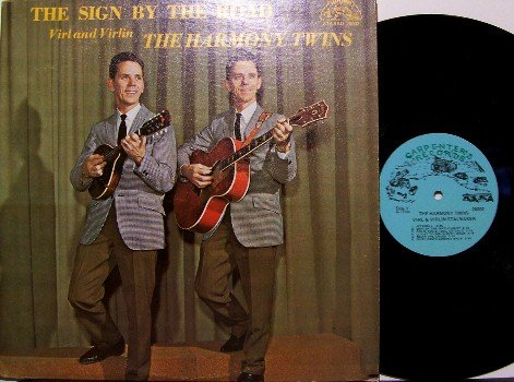 Harmony Twins - The Sign By The Road - Vinyl LP Record - Southern Country Gospel