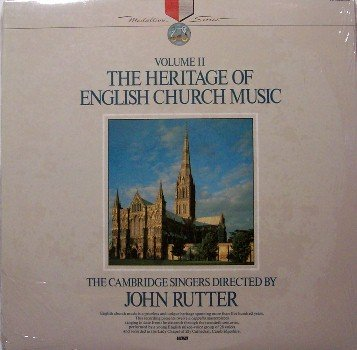 Cambridge Singers - The Heritage Of English Church Music - Sealed Vinyl LP Record - Historic Gospel