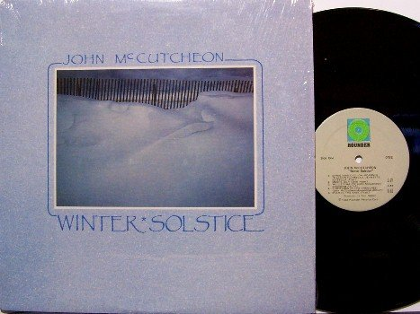McCutcheon, John / Trapezoid - Winter Solstice - Vinyl LP Record - Dulcimer Christmas