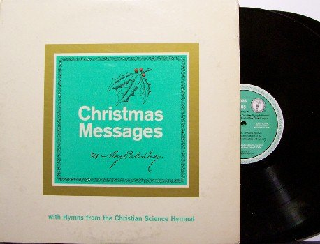 Eddy, Mary Baker - Christmas Messages - 2 Vinyl LP Record Set + Booklet - Christian Science