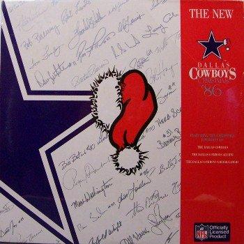 Dallas Cowboys Christmas Favorites 1986 - Sealed Vinyl LP Record - NFL Football Sports