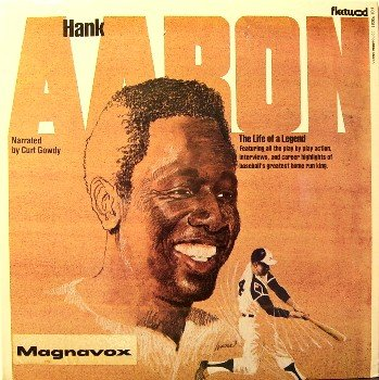 Aaron, Hank - The Life Of A Legend - Sealed Vinyl LP Record - Atlanta Braves - MLB Baseball Sports