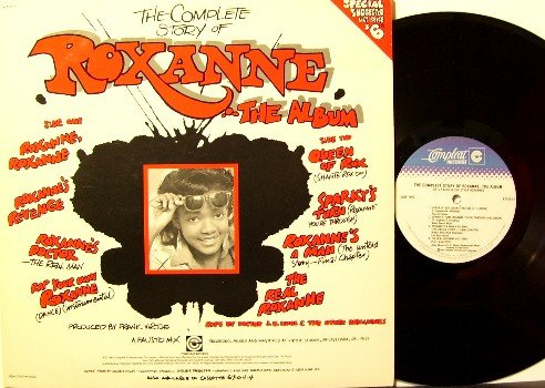Roxanne Shante - The Complete Story Of Roxanne - Vinyl LP Record - Soul Rap R&B