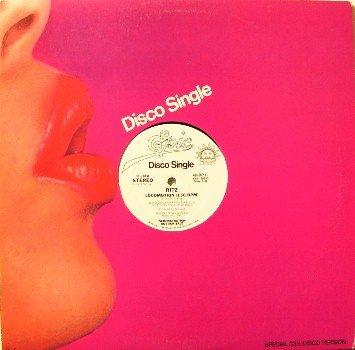 "Ritz - Locomotion - Vinyl 12"" LP Record - White Label Promo - Disco Soul R&B"