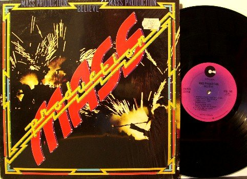 Mass Production - Believe - Vinyl LP Record - Disco Funk