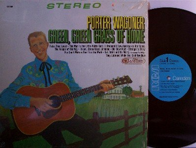 Wagoner, Porter - Green Green Grass Of Home - LP Record - Country