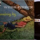 Pierce, Webb - The Wondering Boy - Vinyl LP Record - Mono Decca - Country