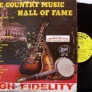 Country Music Hall Of Fame - 2 Vinyl LP Record Set - Starday Label