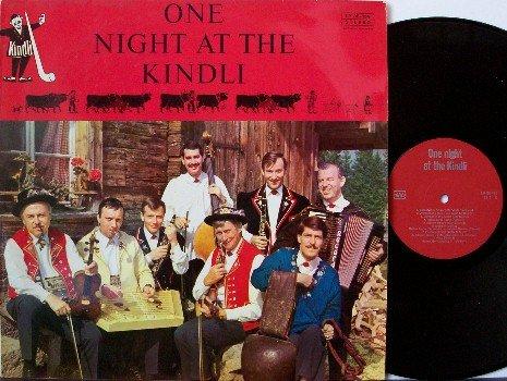 One Night At The Kindli - Unusual Signed Switzerland Album - Vinyl LP Record - Autograph - Folk