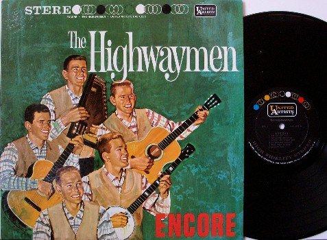 Highwaymen, The - Encore - Vinyl LP Record - Folk