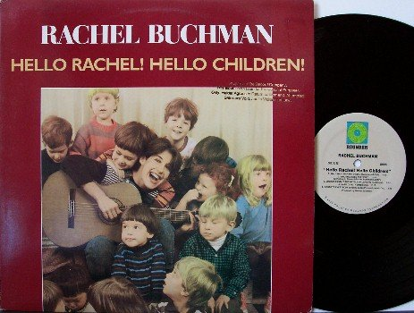 Buchman, Rachel - Hello Rachel Hello Children - Vinyl LP Record - Rounder - Children Kids