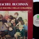 Buchman, Rachel - Hello Rachel Hello Children - Vinyl LP Record - Rounder - Children Kids