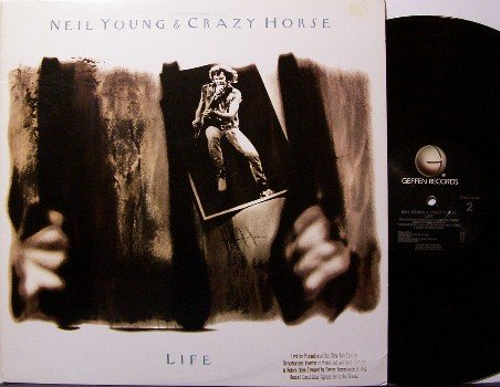 Young, Neil & Crazy Horse - Life - Vinyl LP Record - Promo - Rock