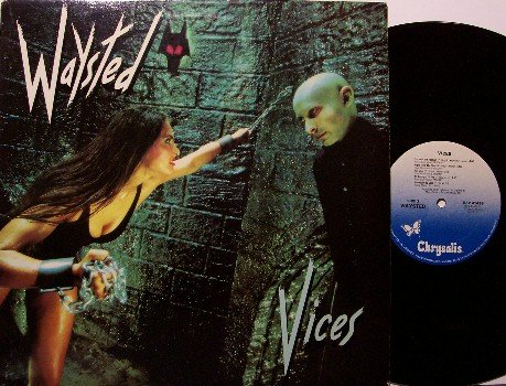Waysted - Vices - Vinyl LP Record - 1983 - Rock
