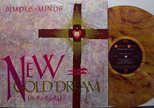 Simple Minds - New Gold Dream - Vinyl LP Record - Swirl Colored Vinyl - Rock