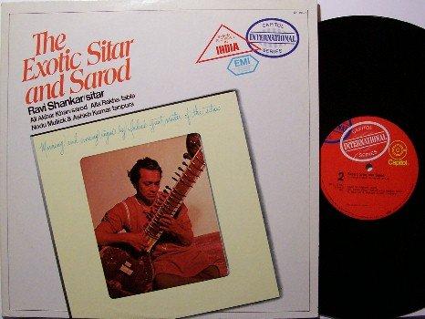 Shankar, Ravi - The Exotic Sitar And Sarod - Vinyl LP Record - India - World