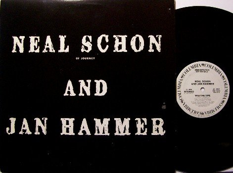 Schon, Neal / Jan Hammer - White Label Promo Only Vinyl LP Record - Journey - Rock