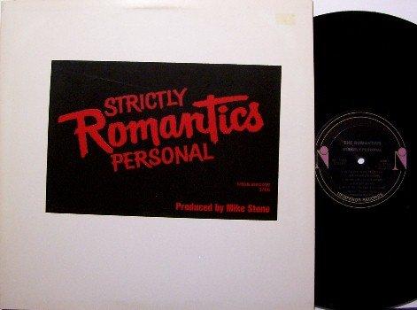 Romantics - Strictly Personal - Vinyl LP Record - White Label Promo Only Radio Pressing - Rock