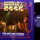 Rolling Stones, The - Historia De La Musica Rock - Vinyl LP Record - Spain Pressing