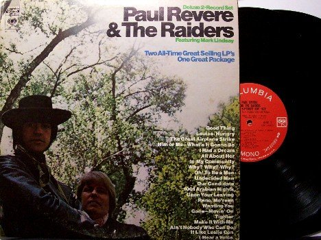 Revere, Paul & The Raiders - 2 Vinyl LP Record Set - Revolution / Spirit Of '67 - Rock