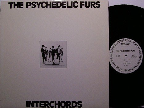 Psychedelic Furs - Interchords - Vinyl LP Record - Promo Only Radio Show - Rock