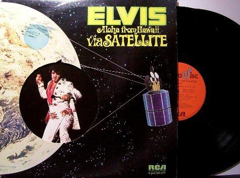 Presley, Elvis - Aloha From Hawaii - 2 Vinyl LP Record Set - Rock