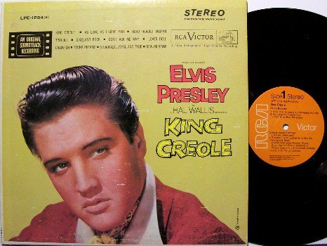Presley, Elvis - King Creole - Vinyl LP Record - Canadian Pressing - Stereo - Rock