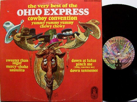 Ohio Express - The Very Best Of The Ohip Express - Vinyl LP Record - Rock