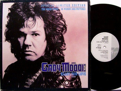"""Moore, Gary - Ready For Love - Special Edition 12"""" - Vinyl LP Record - 2 Live Tracks - UK - Rock"""
