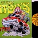 M-Eighties - In A Fury - Vinyl LP Record - College Alternative Rock - M-80's