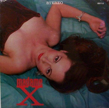 "Madame X - Self Titled - Sealed 10"" Vinyl LP Record - Private Label - Rock"