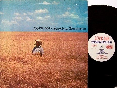 Love 666 - American Revolution - Vinyl LP Record - Amphetamine Label - Rock