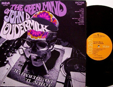 Loudermilk, John D. - The Open Mind Of John D. Loudermilk - Vinyl LP Record - Promo - Rock