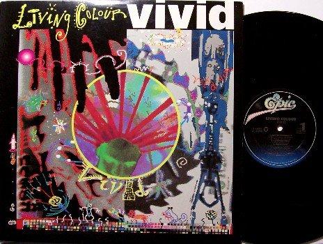 Living Colour - Vivid - Vinyl LP Record - Color - Rock