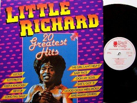 Little Richard - 20 Greatest Hits - Vinyl LP Record - West Germany Pressing - Rock