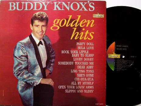 Knox, Buddy - Buddy Knox's Golden Hits - Vinyl LP Record - Rock