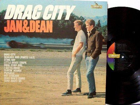 Jan & Dean- Drag City - Vinyl LP Record - Rock