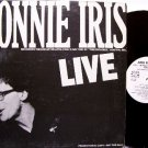 Iris, Donnie - Live - Vinyl LP Record - White Label Promo Only Release - Rock
